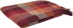 1866 Autumnal Lambswool Patchworks Throw