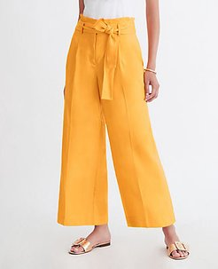 The Paperbag Culotte Pant