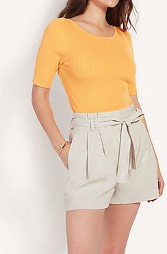 Petite Boatneck Perfect Pullover