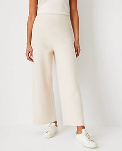 The Wide Leg Sweater Pant