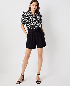 The Paperbag Belted Pull On Short