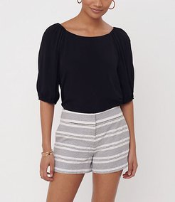 Stripe Textured Riviera Shorts
