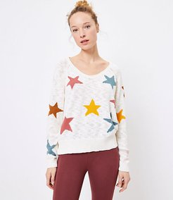Lou & Grey Star Sweater