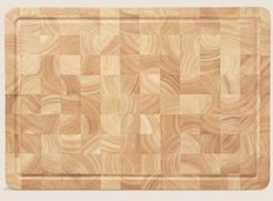 Large Butcher's Block - Wood - One Size