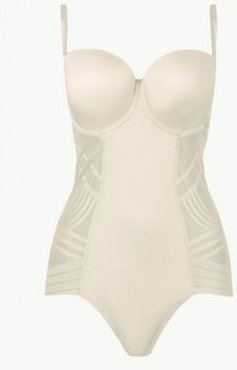 Marks & Spencer Firm Control Magicwear™ Strapless Body B-E - Opaline - US 34