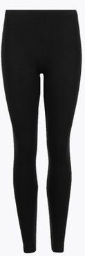 Marks & Spencer Heatgen Plus™ Thermal Brushed Leggings - Black - US 2 (UK 6)