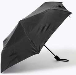 Marks & Spencer Recycled Polyester Umbrella with Windtech™ - Black - One Size