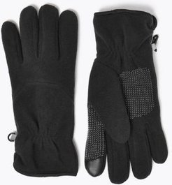 Marks & Spencer Fleece Gloves with Thermowarmth™ - Black - US S - M