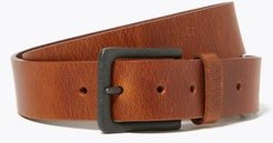 Marks & Spencer Leather Casual Buckle Belt - Tan - 30in-32in waist