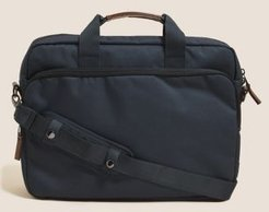 Marks & Spencer Pro-Tect™ Oxford Laptop Bag - Navy - One Size