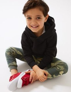 Oragnic Cotton Pullover Hoodies (3 Mths - 7 Yrs) - Black - 2-3 Years