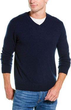 Raffi V-Neck Cashmere Sweater