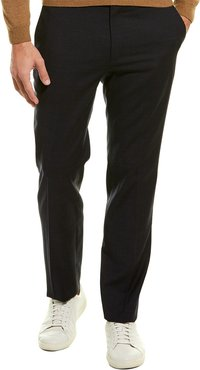 Theory Mayer Tailored Tonal Textured Wool-Blend Trouser