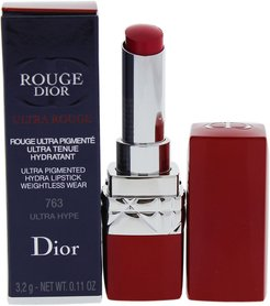 Christian Dior 0.11oz #763 Ultra Hype Rouge Dior Ultra Rouge Lipstick