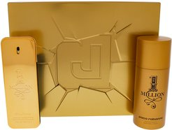 Paco Rabanne Men's 2pc 1 Million Fragrance Set