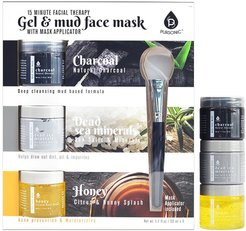 Pursonic 15-Minute Facial Therapy Gel & Mud Face Mask