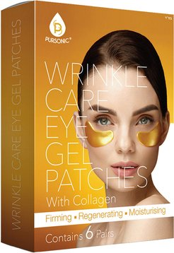 Pursonic Wrinkle Care Eye Gel Patches 6pc Set