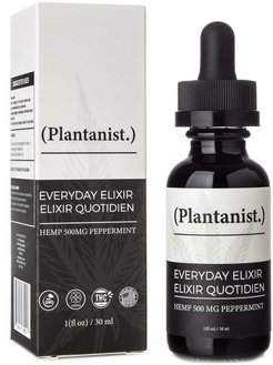 Plantanist Everyday Elixir CBD Oil Tincture 500mg
