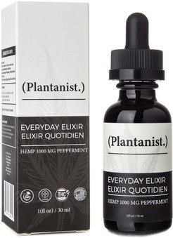 Plantanist Everyday Elixir CBD Oil Tincture 1000mg