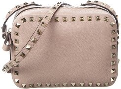 Valentino Rockstud Leather Camera Bag