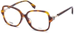 FENDI Women's FF 0364/F 53mm Optical Frames