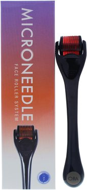 ORA Black/Red Microneedle Face Roller System