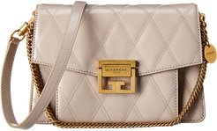 Givenchy GV3 Small Diamond Quilted Leather Shoulder Bag