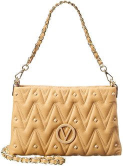 Valentino by Mario Valentino Vanille D Leather Shoulder Bag