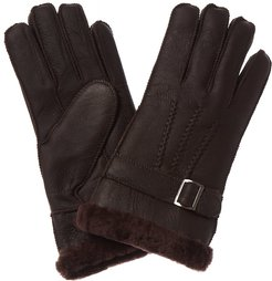 Surell Accessories Shearling Gloves