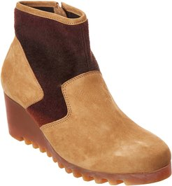 Arche Larizy Leather Wedge Ankle Boot