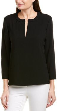 Jason Wu Satin Crepe Blouse