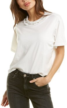 city sleek Embellished T-Shirt
