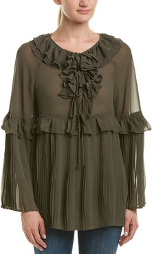 Romeo & Juliet Couture Pleated Top