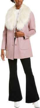 Laundry by Shelli Segal Single-Breasted Coat
