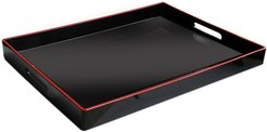 Jay Import Rectangular 19in Tray with Handles