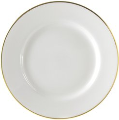 Ten Strawberry Street Set of 6 Gold Line Charger Plates