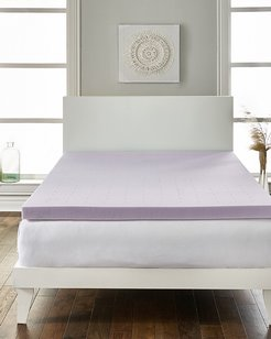 Loftworks 2in Lavender infused Extra Soft Mattress Topper