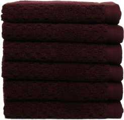 Chortex  Honeycomb 6pc Washcloth Set