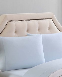 Charisma Solid Skyway Pillowcases