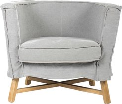 Moe's Home Collection Grand Club Chair Light Grey