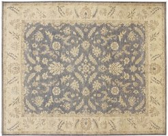 Noori Rug Sun-Faded Hand-Knotted Rug