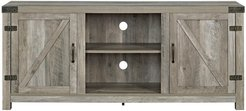 Hewson 58in Farmhose Wood TV Stand Storage Console