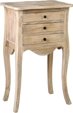 East at Main's Sophie Rubberwood Accent Table