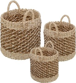 Honey-Can-Do Set of 3 Woven Baskets