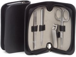 Bey-Berk 4 Piece Manicure Set with Small Nail Clippers