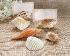 "Kate Aspen ""Shells by the Sea"" Set of 12 Place Card Holders"
