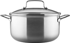 KitchenAid Gourmet Series 3-Ply Stainless Steel 8qt Stockpot