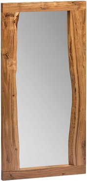 Alaterre Alpine Natural Live Edge Wood 48in Mirror