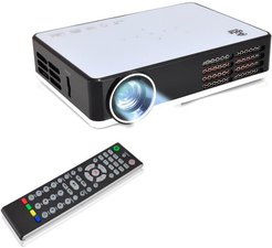 Pyle Smart Mini Portable Projector with Built-In Android System