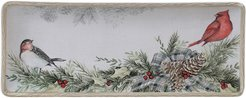 Certified International Holly and Ivy Rectangular Platter